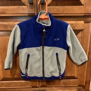 Baby boy Champion jacket coat 18 months blue gray